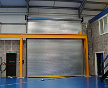 Industrial Insulated Door